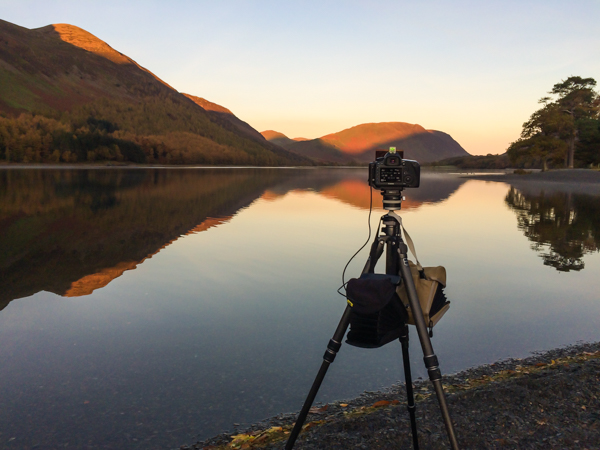 Sunrise at Buttermere