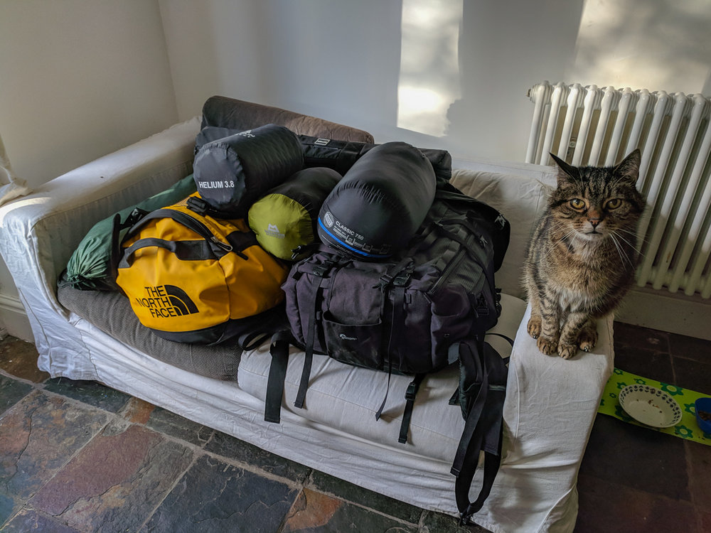 Packed and ready to go. (Cat not included.)