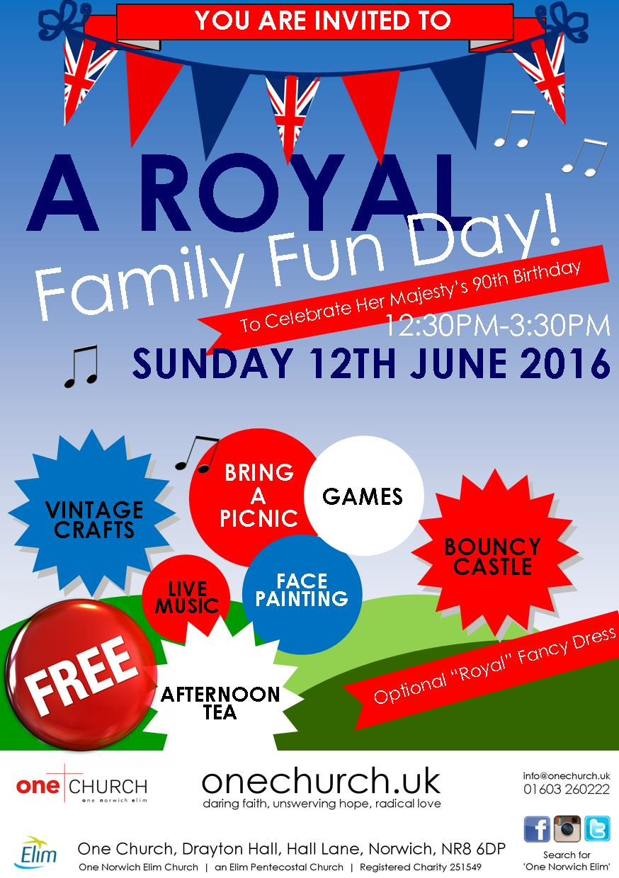A Royal Family Fun Day - Queen's 90th Birthday