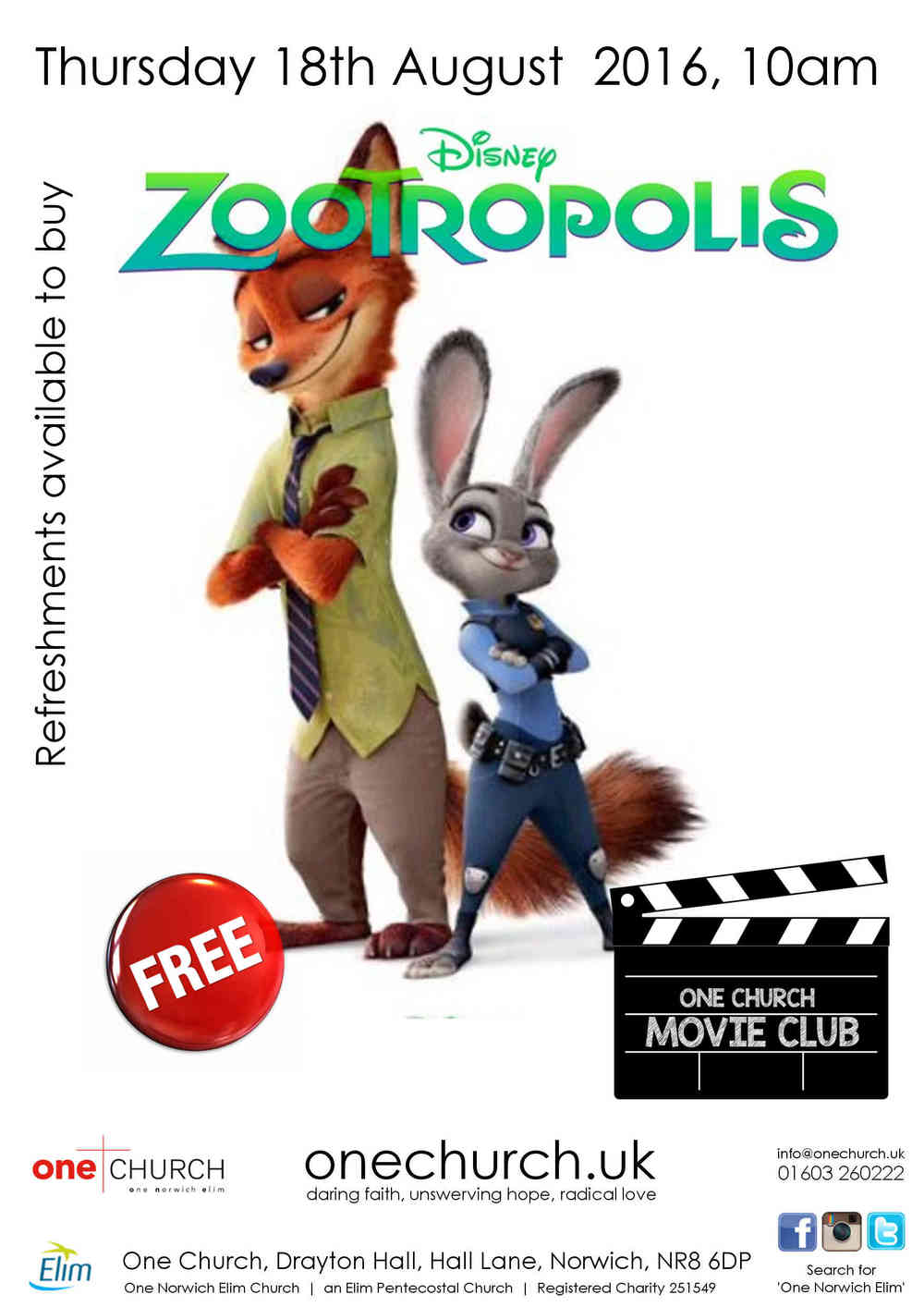 Movie Club Norwich