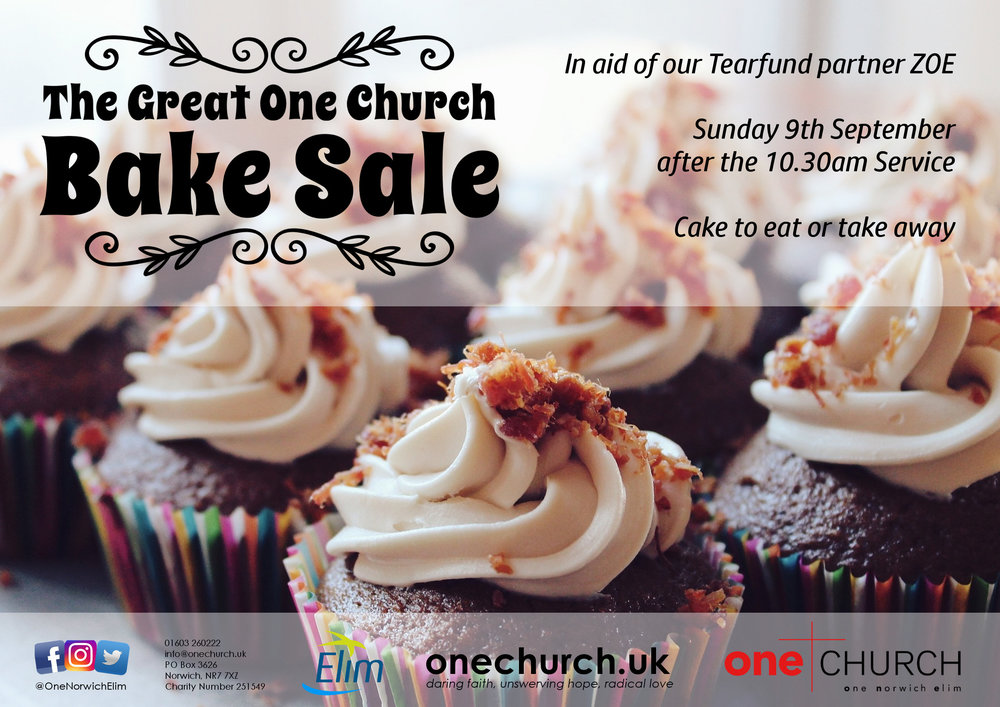 The Great One Church Bake Sale.jpeg