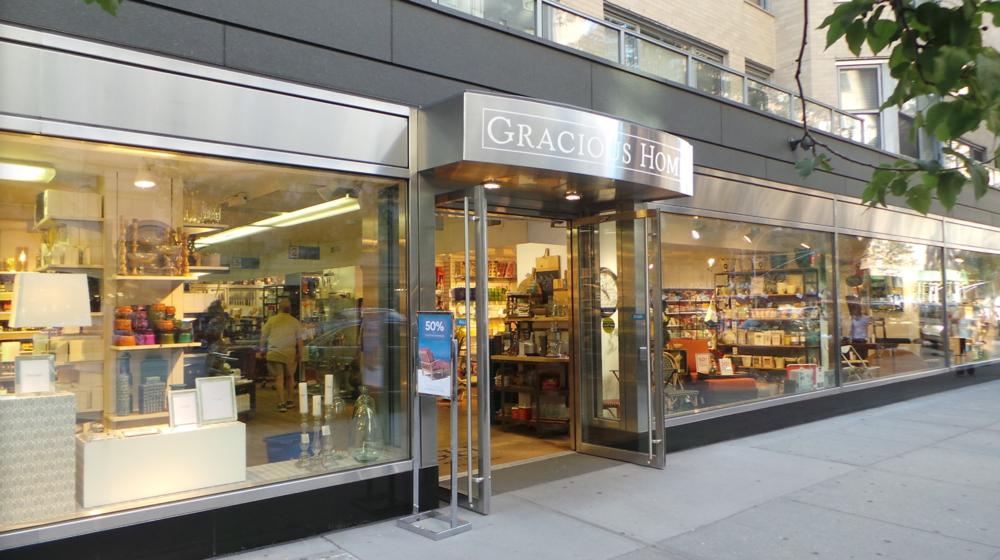 - Gracious Home1210 3rd Ave, New York, NY 10021Phone: 212.517.6300 www.gracioushome.com
