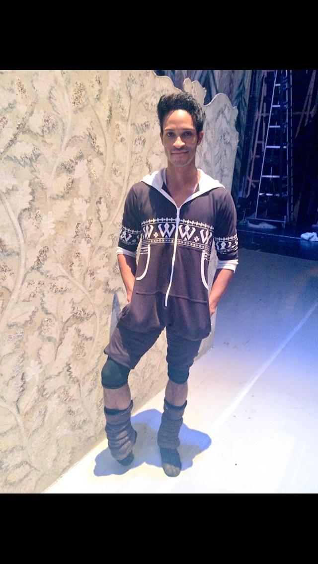 Fernando in a H&M onesie