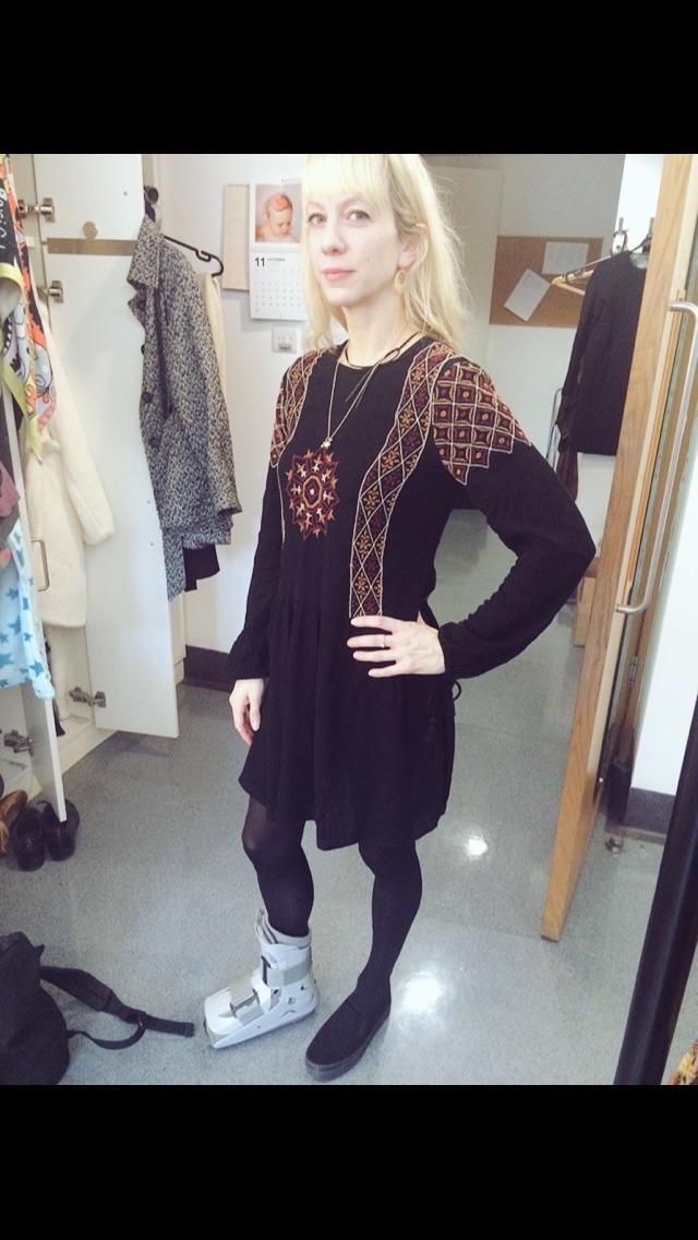 DRESS-  http://m.zara.com/   SHOE -  http://m.hm.com