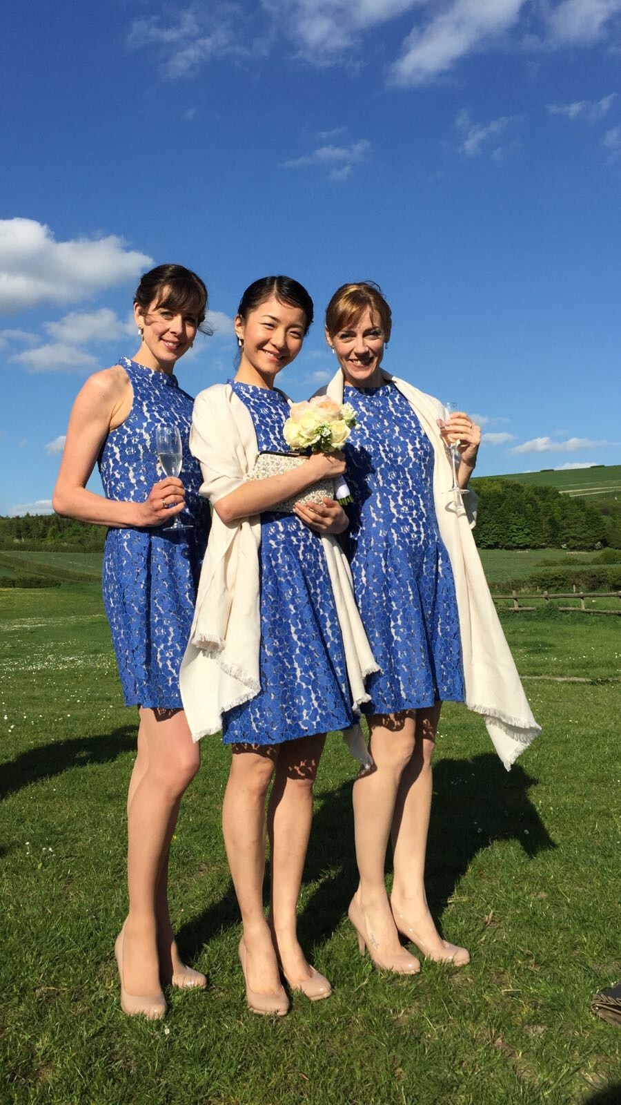 Bridesmaids- Laura, Yuhi & Helen  Dresses- www.oasis-stores.com And the beautiful Bride.. Mrs Emma Jane Mann ...
