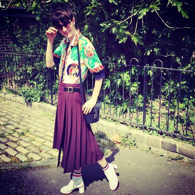 Me  Top Vintage  Skirt http://m.zara.com