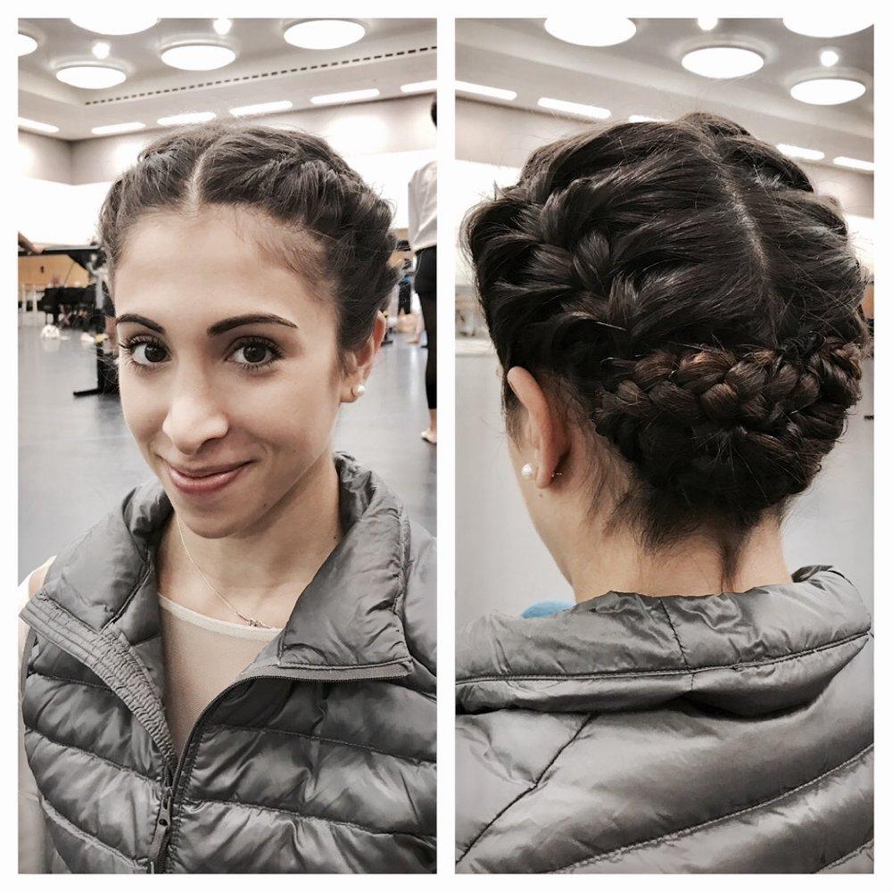 Yas in pretty braids