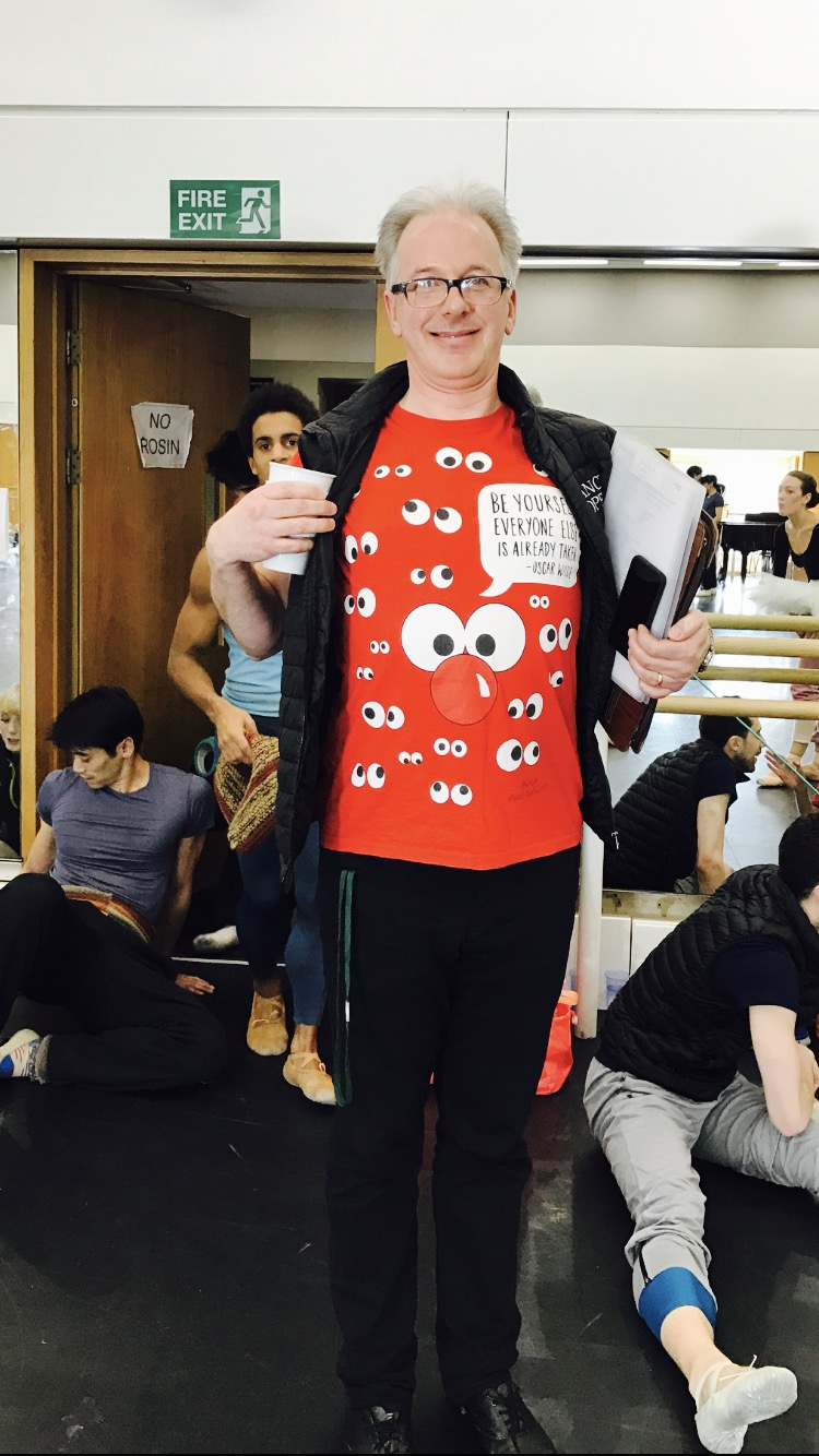 THE ULTIMATE BALLET WEAR FOR TODAY, FROM BALLET MASTER- CHRIS !