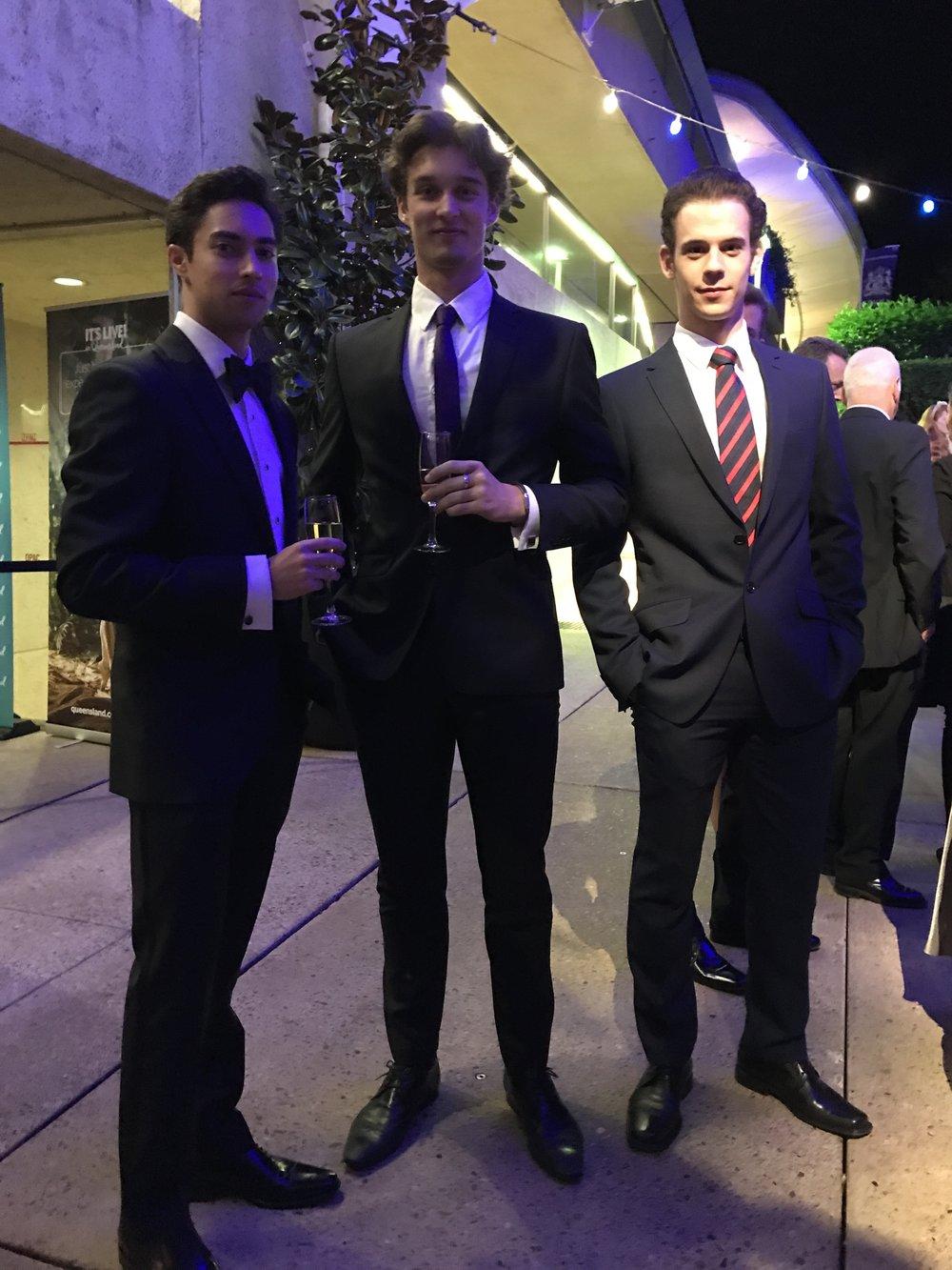 James, Lukas & Tomas