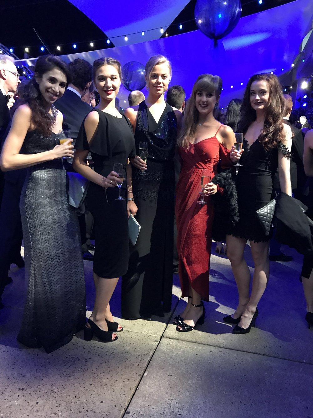 Yasmin, Mica, Gina, Camille & Anna