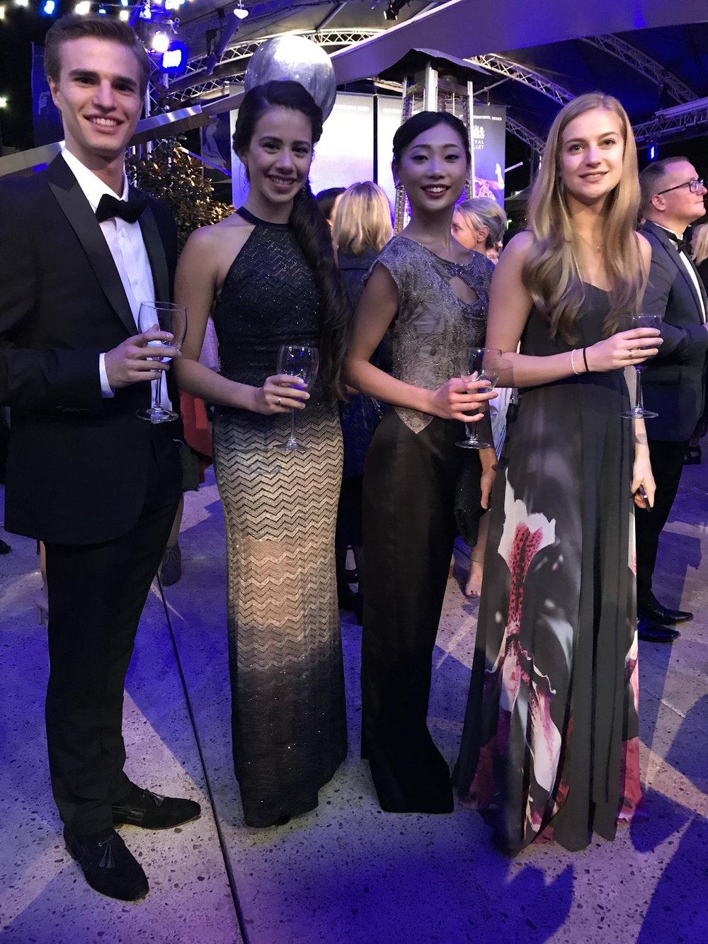Leo, Leticia, Mariko & Julia