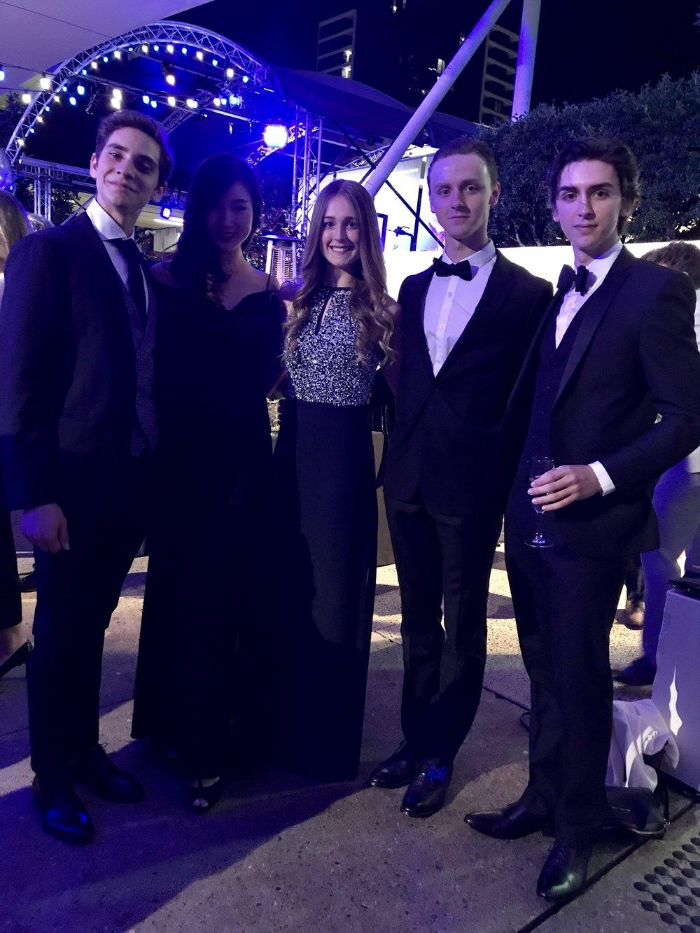 Giacomo, Maria, Charlotte, Harry & Teo