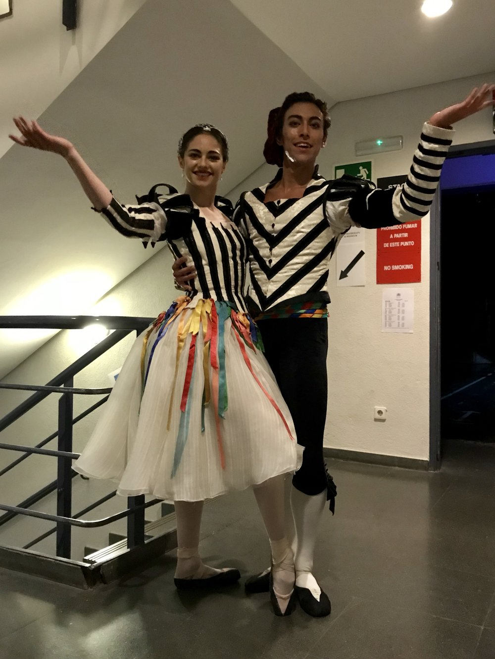 RO AND LUCA IN NEOPOLITAN COSTUMES