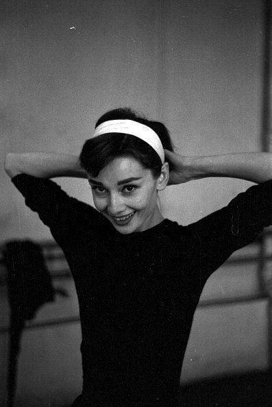 The beautiful Audrey Hepburn.