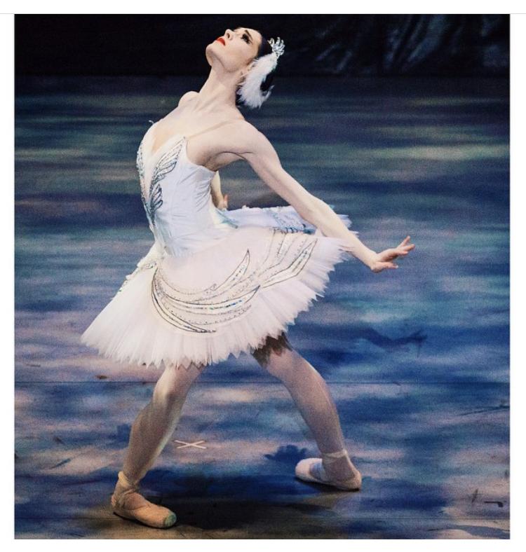 Beckanne Sisk from Ballet West as Odette.