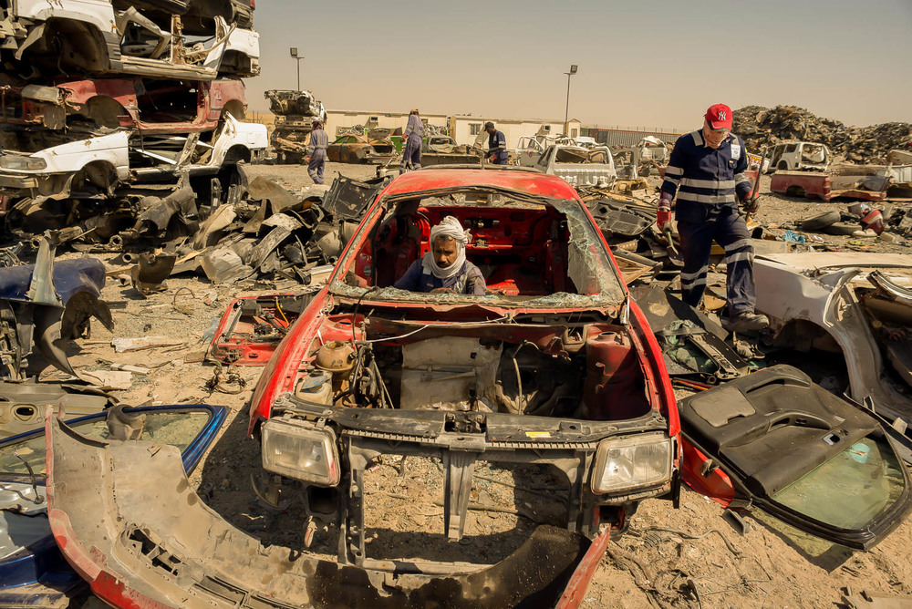 The Car Breakers of Sharjah — Jo Kearney photography