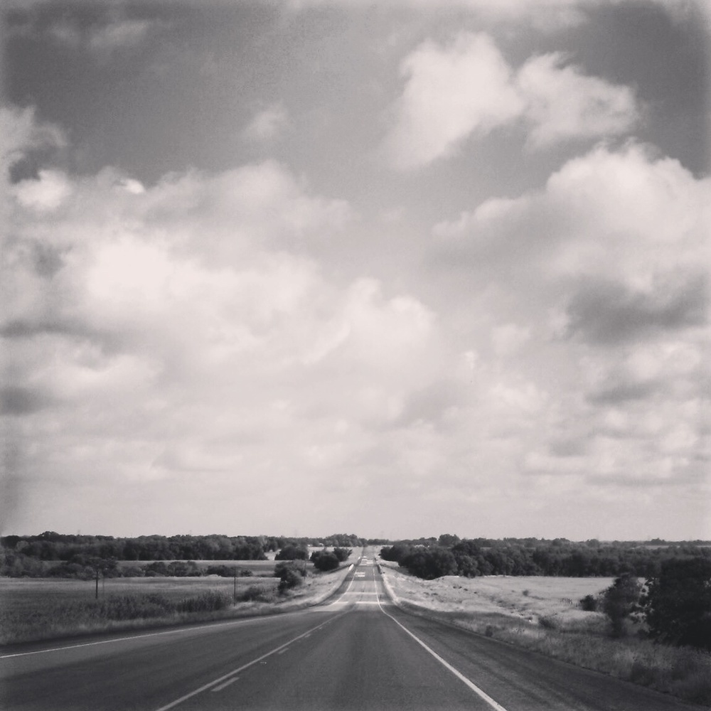 Scene from a roadtrip through the middle of Texas.