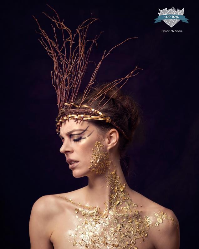 Model: Annie Montoya, Makeup: Danielle Southcott | 2017 Shoot and Share Top 10%, Sarah Hooker Photography
