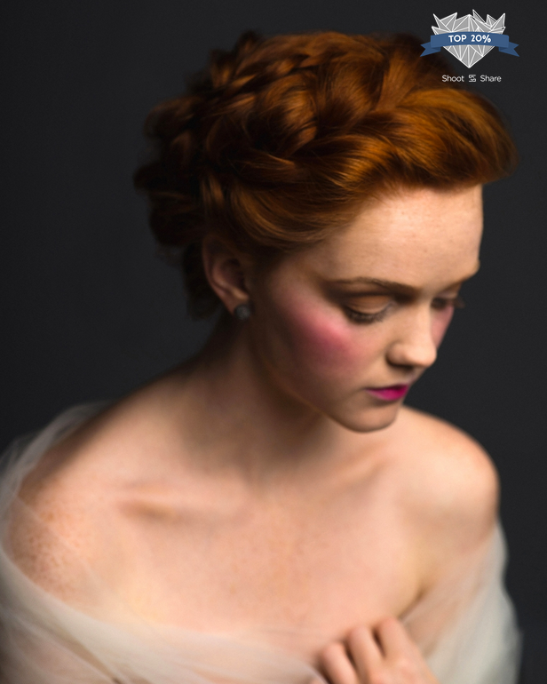 Model: Molly White, Hair and Makeup: Jennifer O'Leary | 2017 Shoot and Share Top 20%, Sarah Hooker Photography