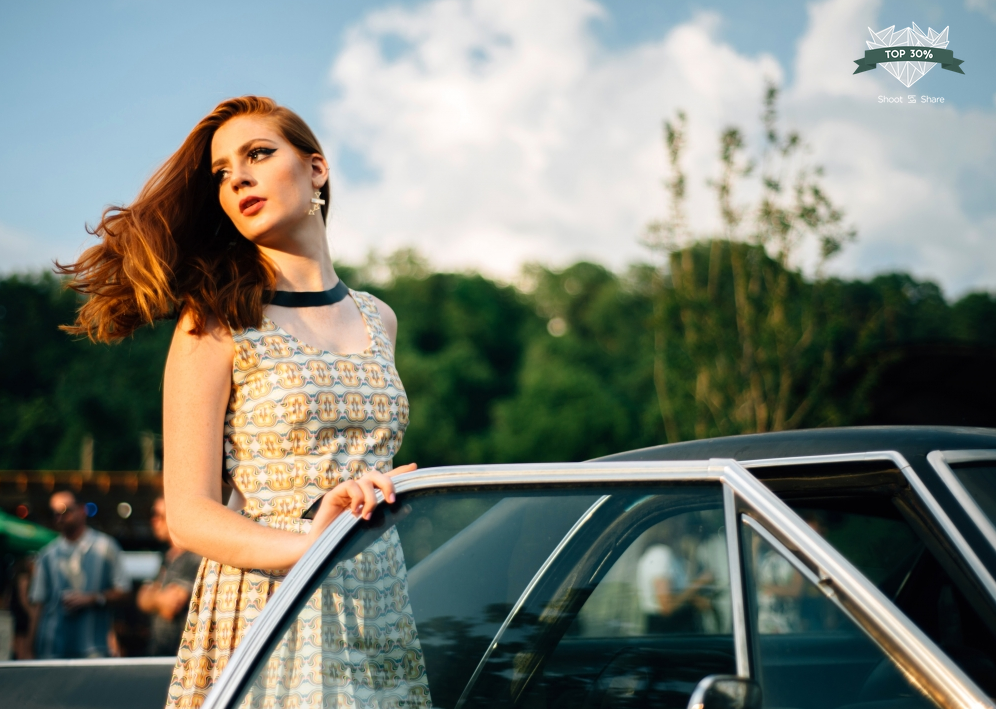 Model: Brooke Jagger, Dress Designer: Brooke Ullman | 2017 Shoot and Share Top 30%, Sarah Hooker Photography
