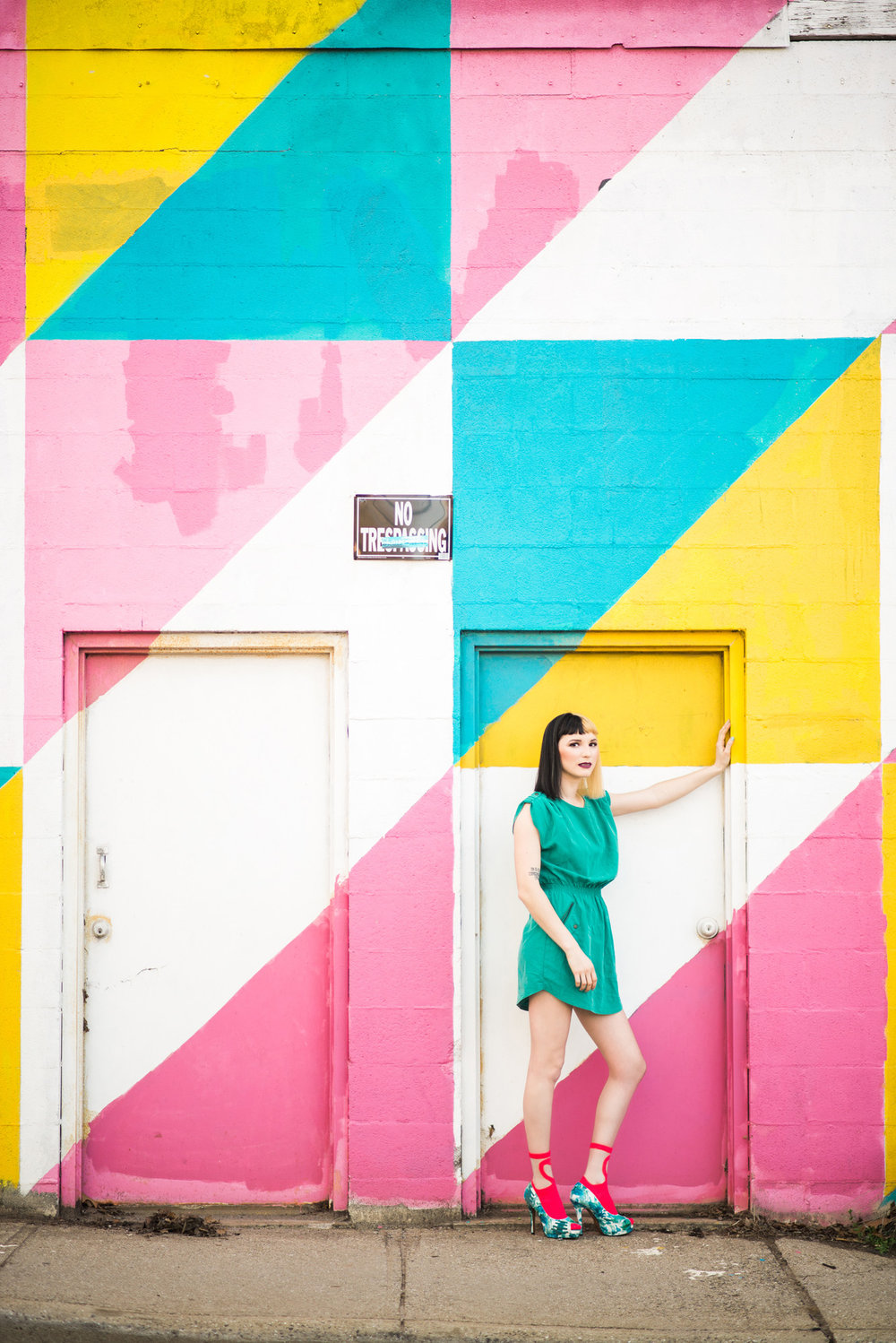 Sarah Hooker Photography | Color Fanatic: Play Every Day, Model Gabriela MacArdle, MUA Tia Hixon, Asheville NC