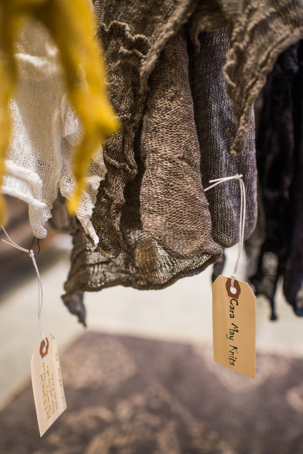 Scarves, Business Branding Photography for Cara May Knits by Sarah Hooker Photography