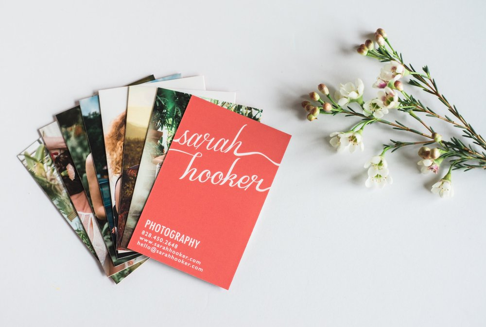 New Business Cards — Sarah Hooker | Portrait and Branding ...