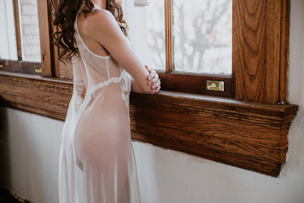 What to Wear at Your Boudoir Session by Sarah Hooker Photography: See Through Items