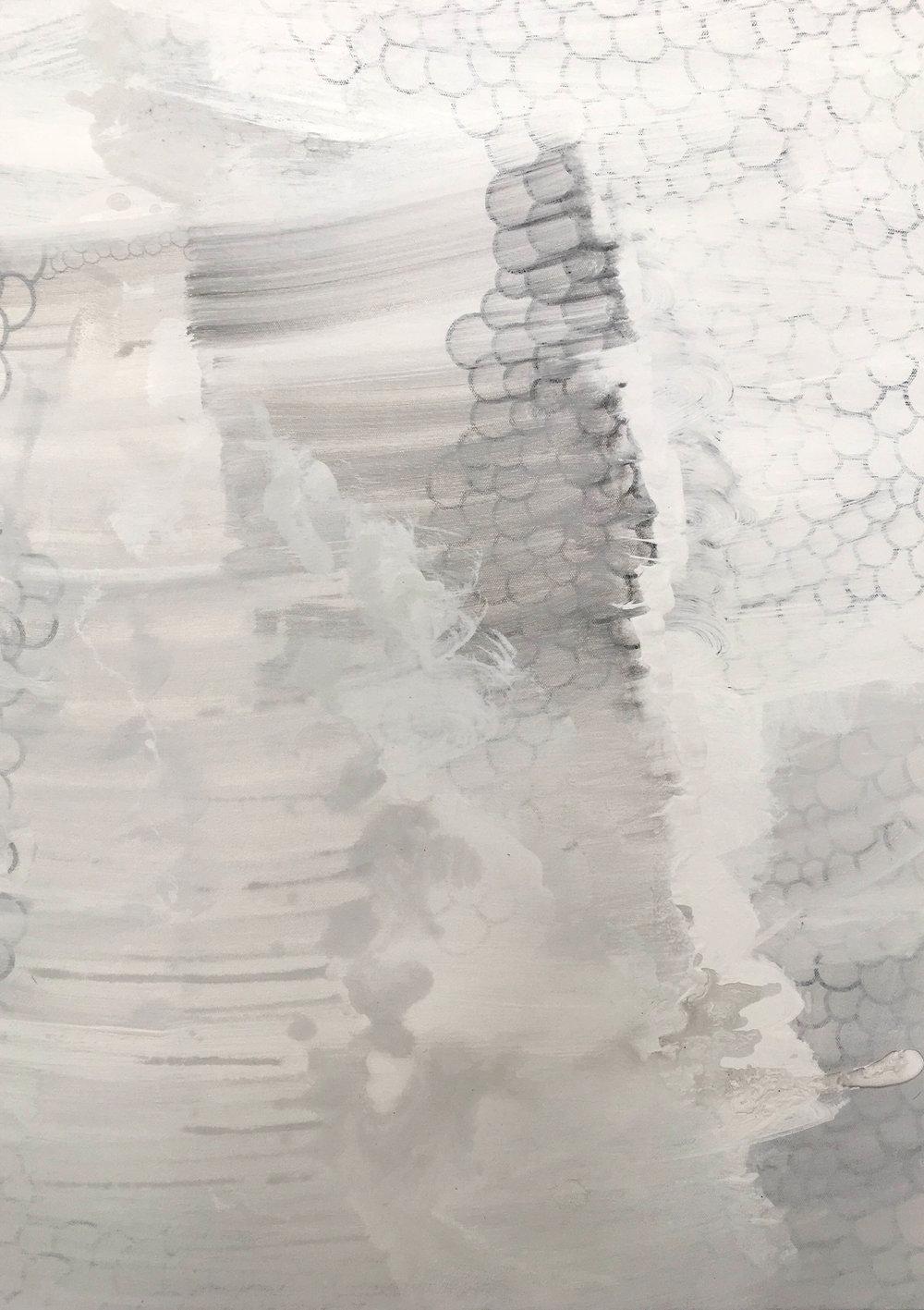 "Untitled | 2016 | Acrylic on canvas | 30"" x 22"""