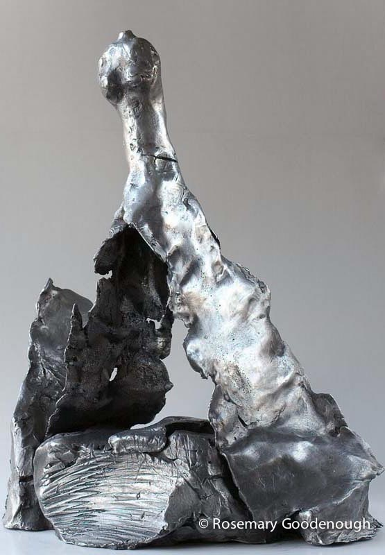 ELEMENTAL WOMAN ALUMINIUM-  £12,500 Limited Edition of 5 + 2 Artist's Proofs Height 51.5cm