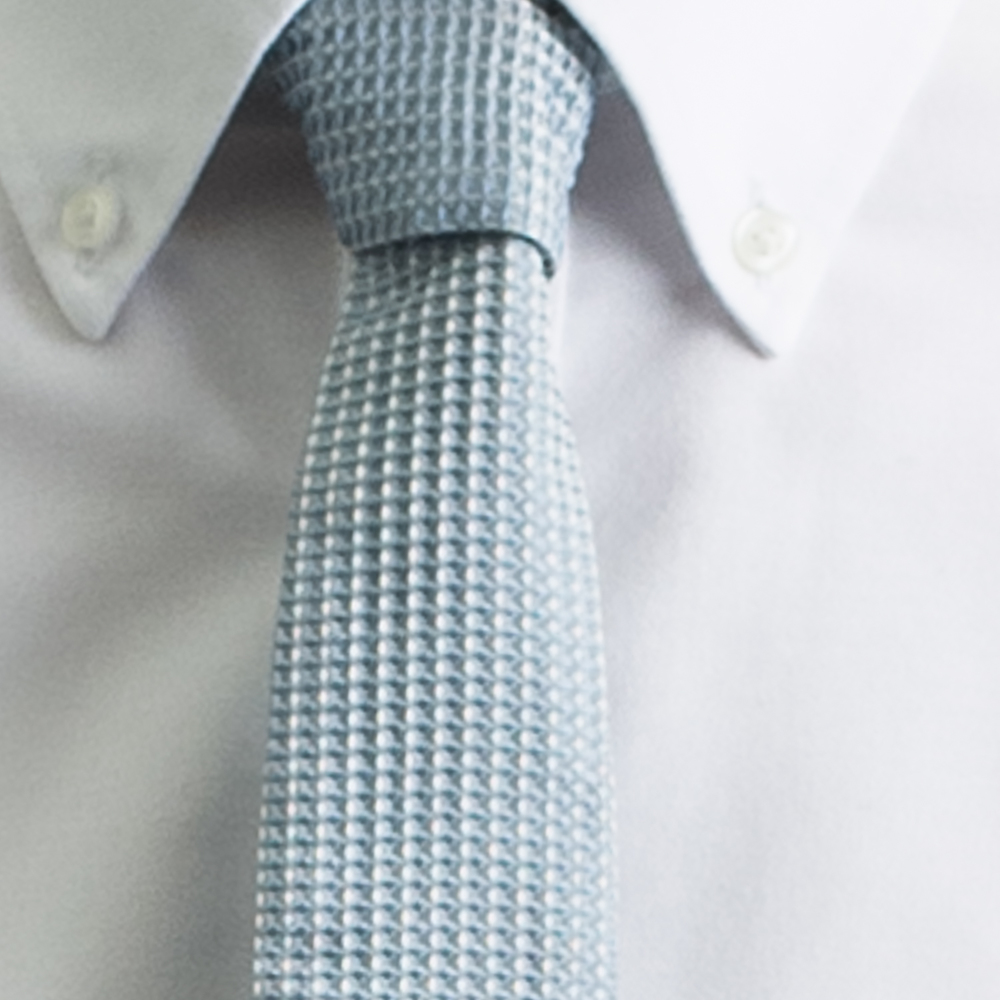 Rosemary Goodenough Man Woven Silk Tie 'Blue Heaven'