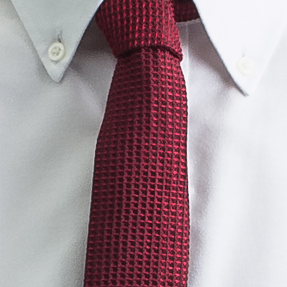 Rosemary Goodenough Man Woven Silk Tie 'Red Planet'