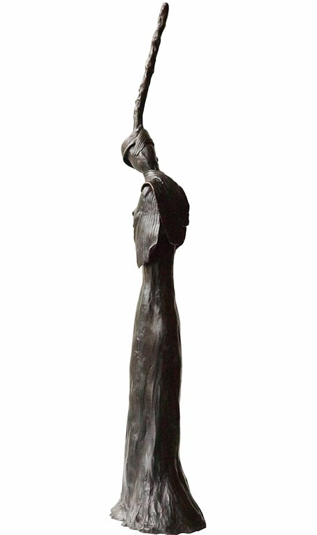 ELEANOR THINKING- Back  Bronze £14,500 Limited Edition of 3 + 2 Artist's Proofs Height 71.5cm