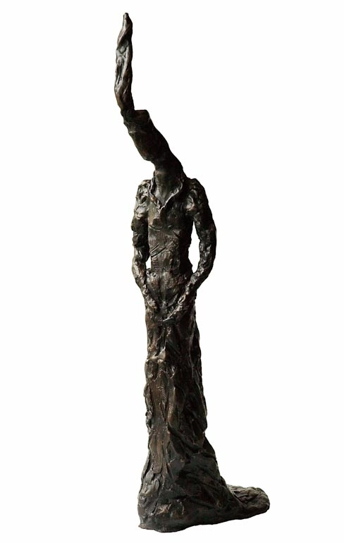 Eleanor Considering- Front  Bronze £14,500 Limited Edition of 3 + 2 Artist's Proofs Height 73cm