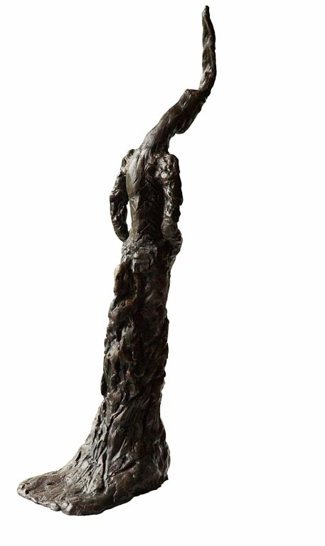 ELEANOR CONSIDERING- Back Bronze £14,500 Limited Edition of 3 + 2 Artist's Proofs Height 73cm