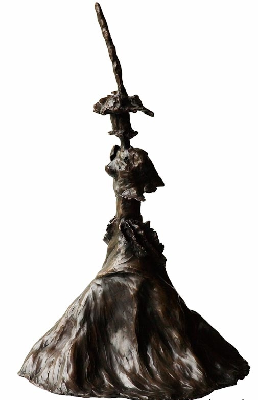 Eleanor Bustling- Front Bronze £16,500 Limited Edition of 3 + 2 Artist's Proofs Height 74cm