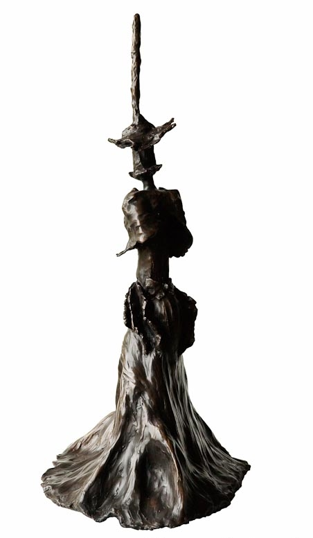 ELEANOR BUSTLING- Back Bronze £16,500 Limited Edition of 3 + 2 Artist's Proofs Height 74cm