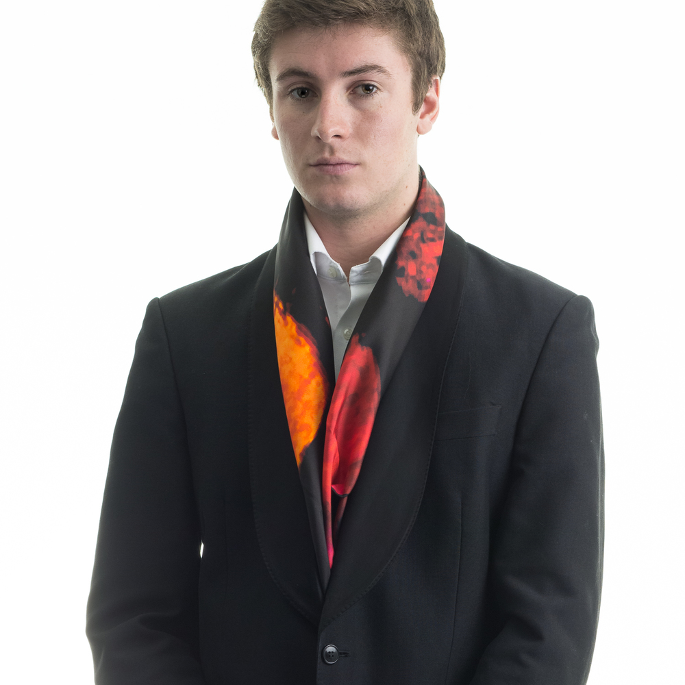 Rosemary Goodenough Man 'Mad Red Flowers IX' Scarf.jpg
