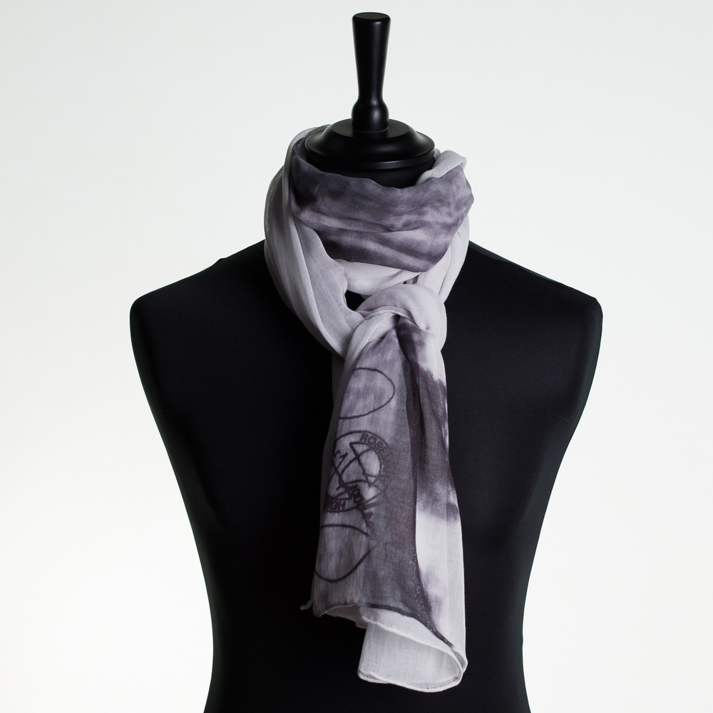 'HOT CITY' IV PURE COTTON SCARF
