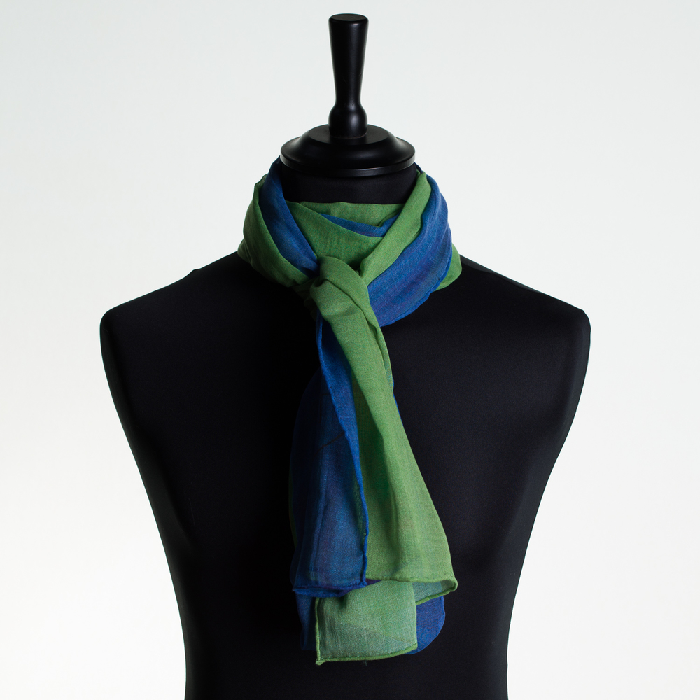 'HOT CITY' VII PURE COTTON SCARF