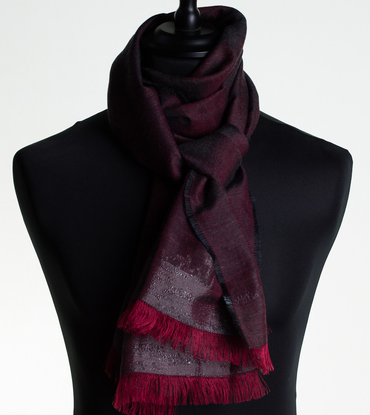 LONG SILK AND CASHMERE SCARVES