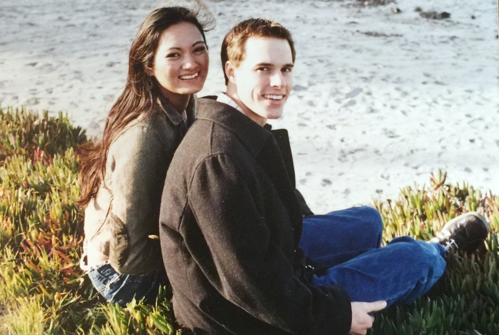 Look at these babies! We used this as our engagement photo in 2004.