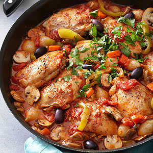 Chicken Cacciatore from Better Homes and Gardens