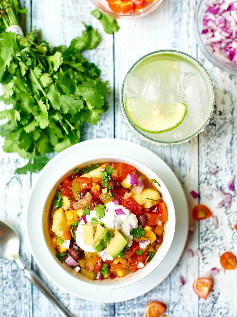 Mexican Vegetable Soup from Show Me the Yummy
