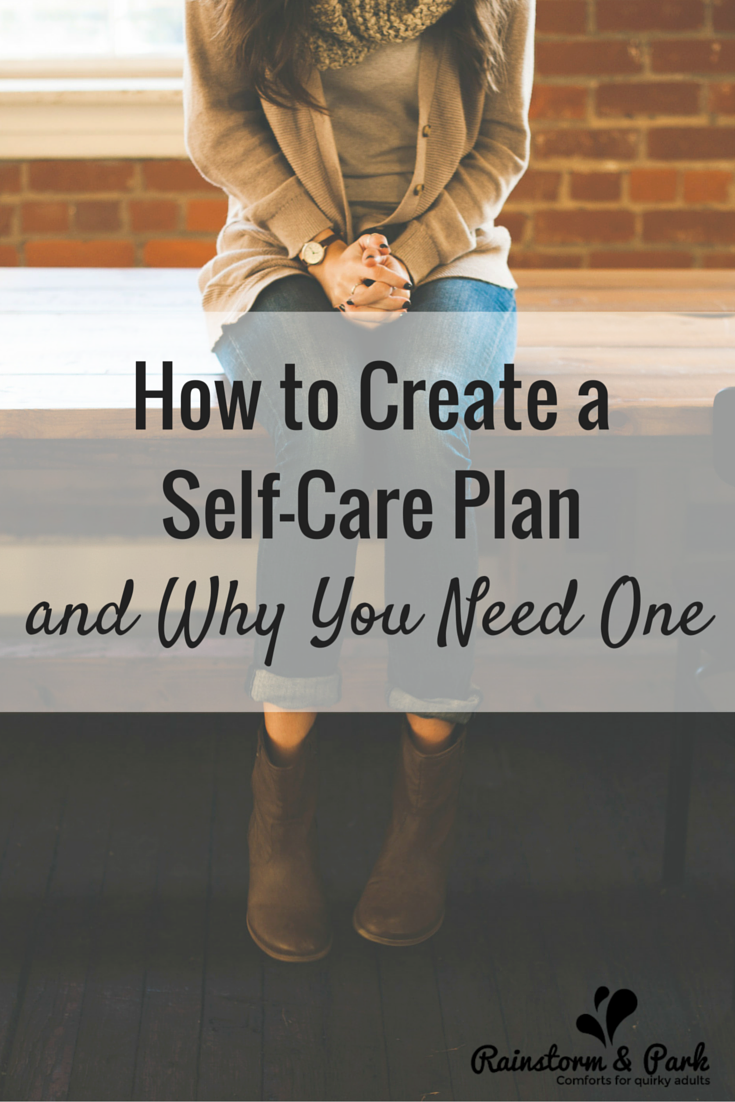 How to Create a Self-Care Plan