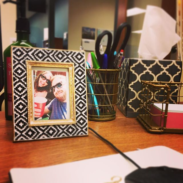 This picture on my desk was taken during the first trip  @brycecarpenter14 and I ever took to Colorado. I look at it every day and smile because I'm so lucky to have this wonderful person in my life. The world has been a better place for the last 30 years because he's in it, and I am so grateful that he is my partner. I love you so much! Happy birthday 😘🎊❤️🎂