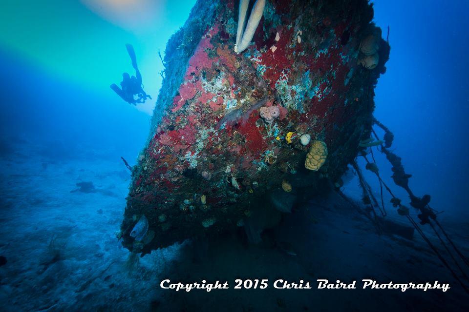 Bow- 200 feet deep