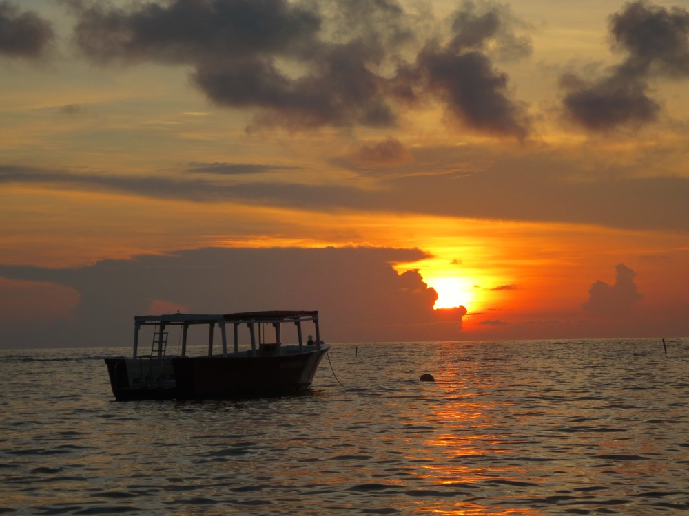 Delfin Sunset on Roatan