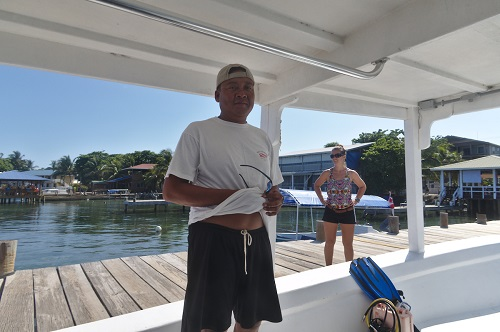 Jose (one of the 2 best Captain on the island... with Nelson)