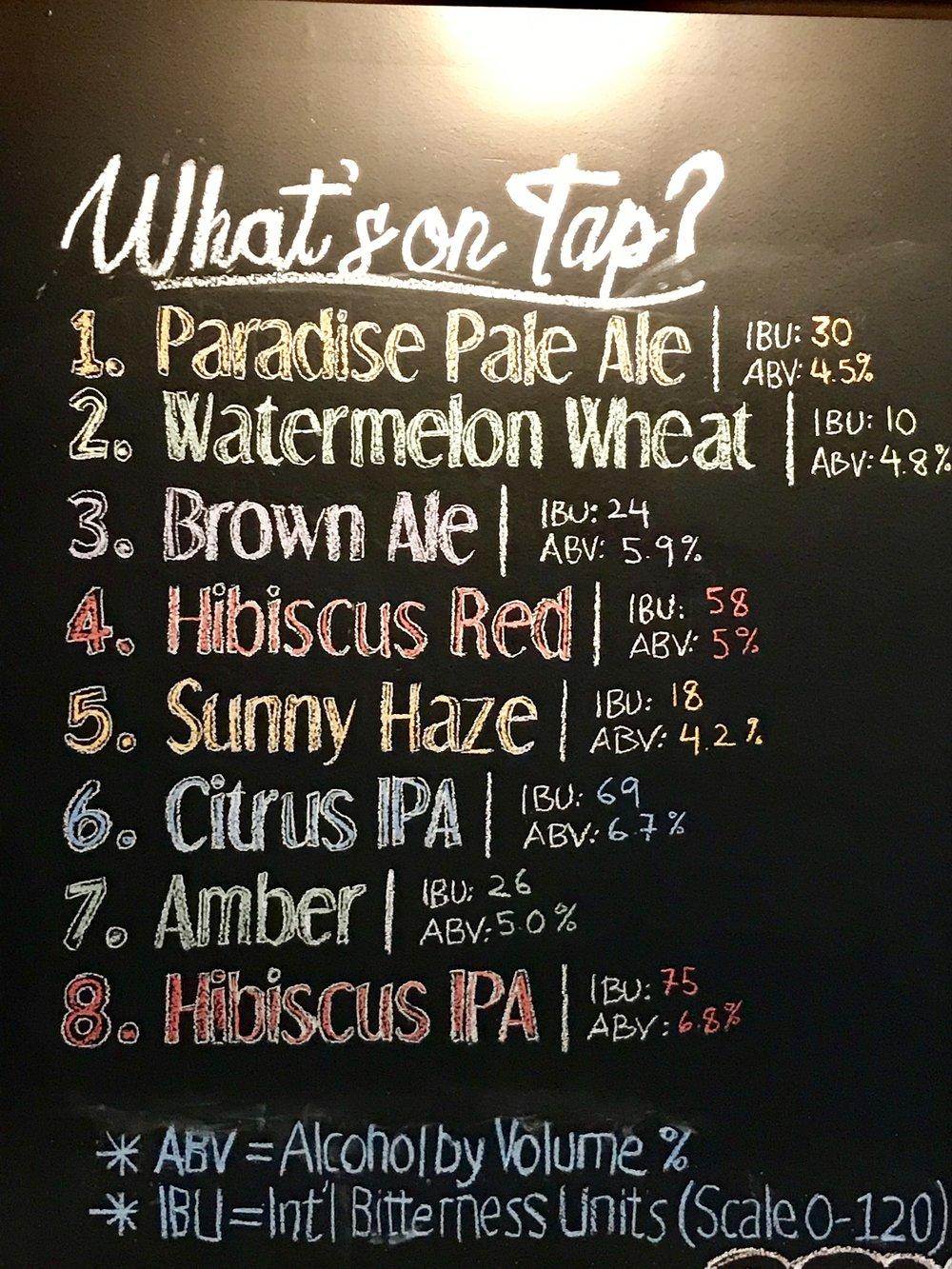 Eight Beers!